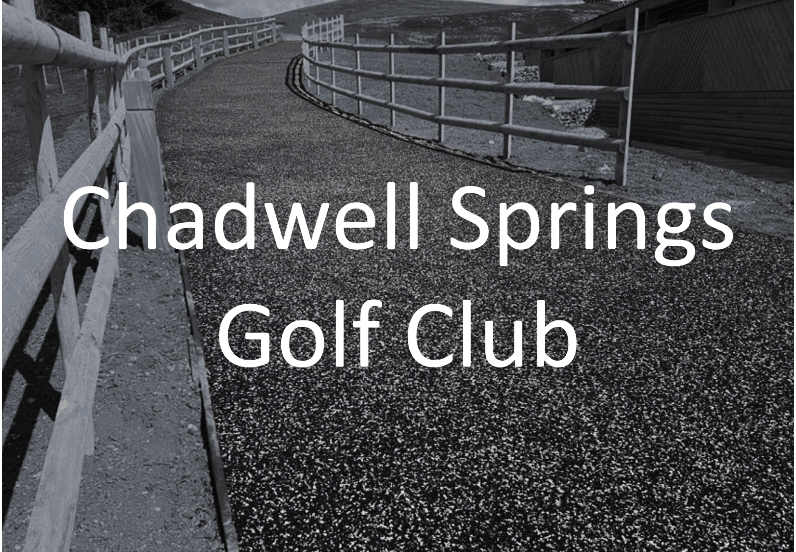 Chadwell Springs Golf Club