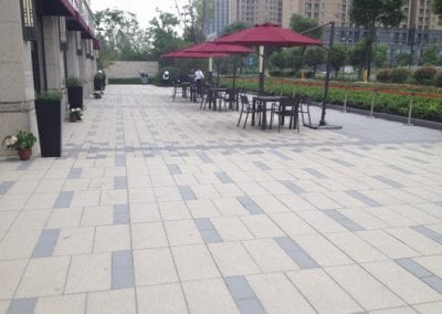 Permeable Ceramic Pavers