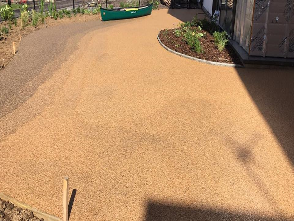 Sudstech Permeable Paving at Lenzie Moss