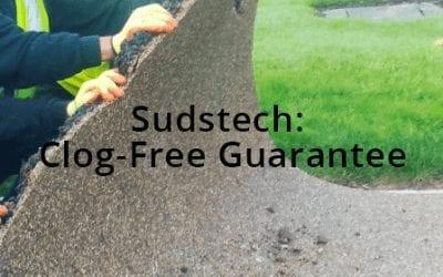 SUDSTECH: CLOG-FREE GUARANTEE